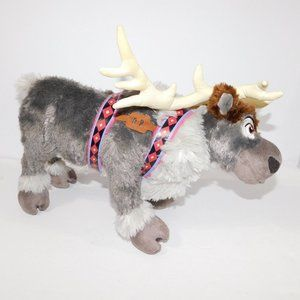 "Disney Frozen 16"" Plush SEVN Reindeer Authentic"